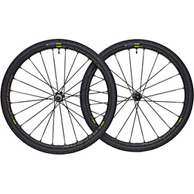 Mavic Allroad Pro Wheelset 700x40c disc 6-hole 12mm black